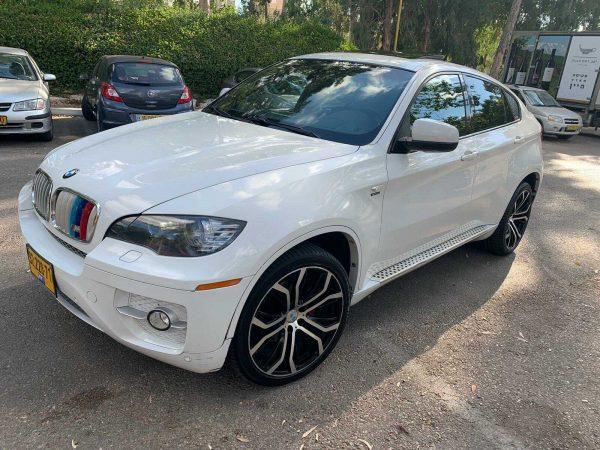 רכב BMW X6 למכירה
